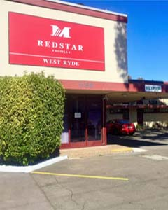 red star hotels west ryde